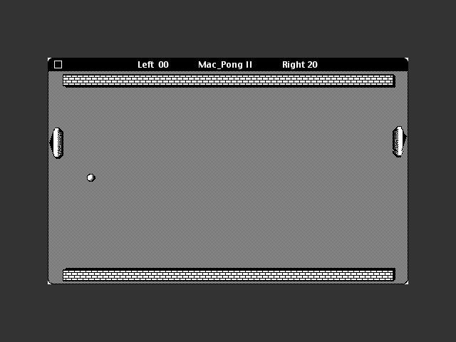 Mac Pong II (1986)
