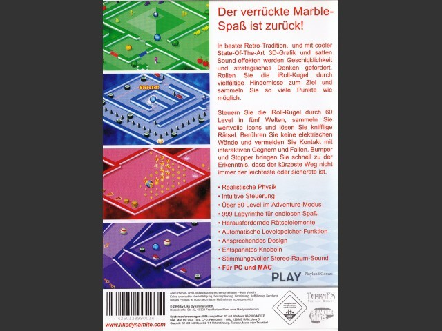 iRoll (Marble game, German) (2006)