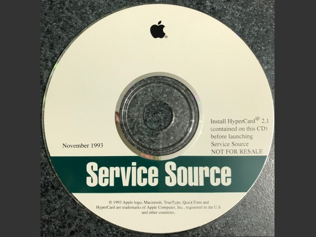Apple Service Source Companion 1993 (1994)