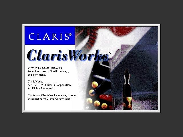ClarisWorks 3.0CDv1 (1994)