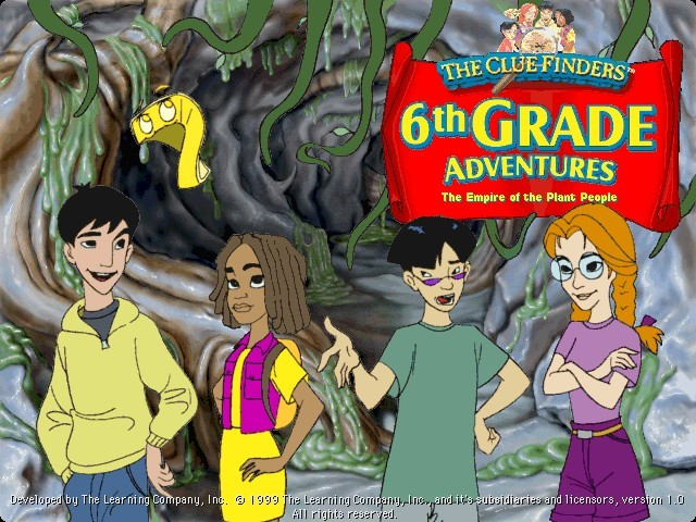 The ClueFinders 6th Grade Adventures (1999)