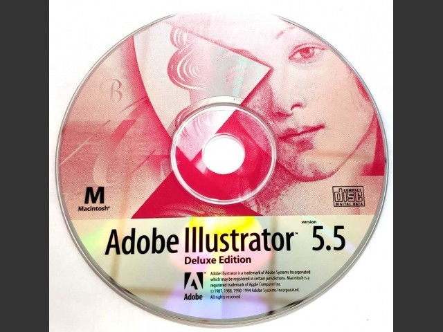 Adobe Illustrator 5.5 Deluxe edition (1994)