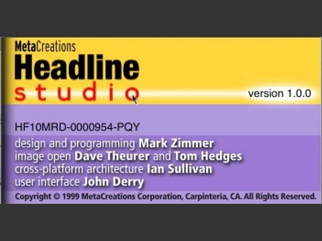 Headline Studio (1999)