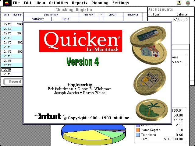 Quicken 4.0 (1993)