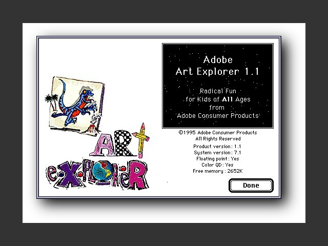 Adobe Art Explorer Deluxe (1995)