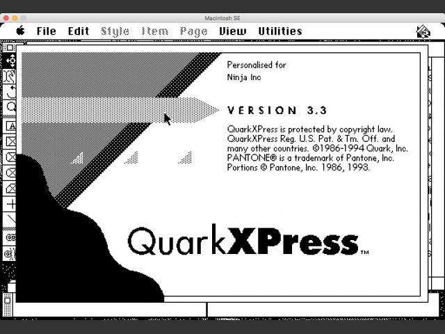 QuarkXPress 3.3 International English (1996)