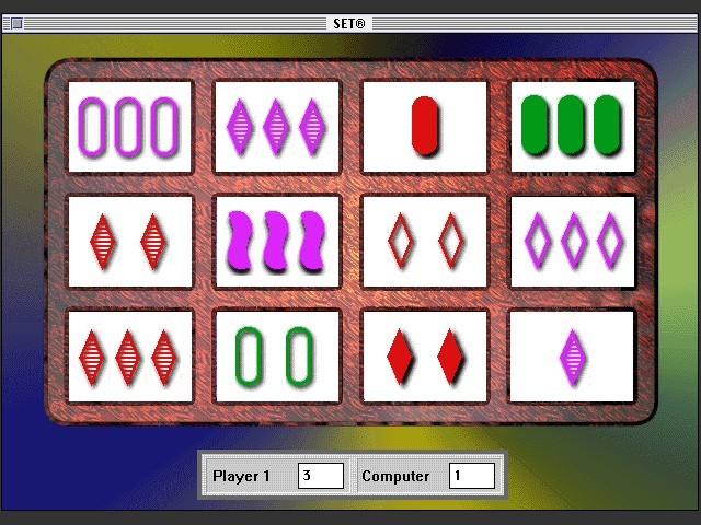 Set: The Family Game of Visual Perception (1995)