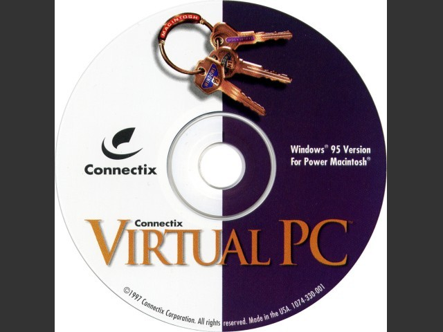 Connectix Virtual PC 1.0b6 and 1.0fc2 (1997)