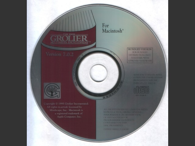 The 1995 Grolier Multimedia Encyclopedia (1995)