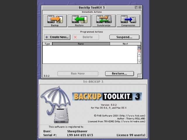 FWB Backup Disk ToolKit 3.0.2 (2001)