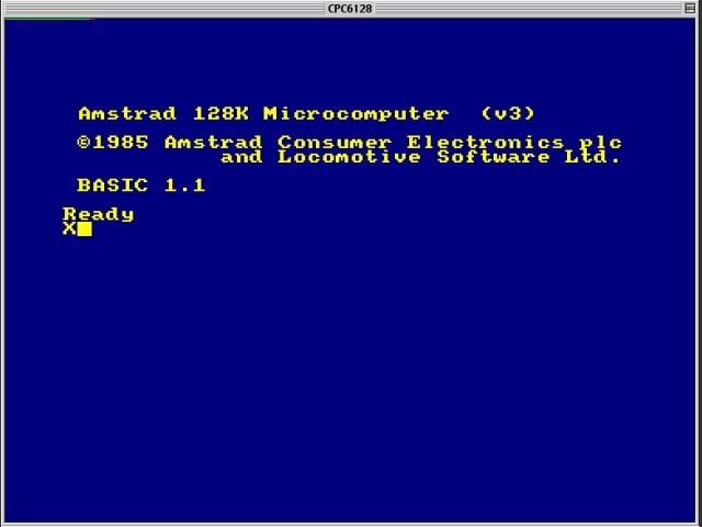 CPC++ - Amstrad CPC Emulator (1996)