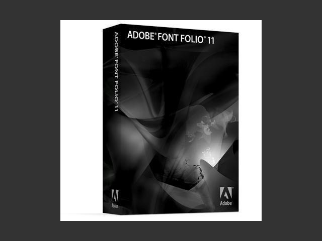 Adobe Font Folio 11.0 (2007)