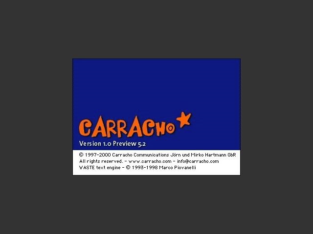 Carracho (client & server & tracker) (1997)
