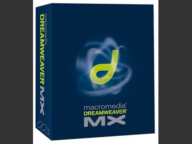 Dreamweaver MX (2002)