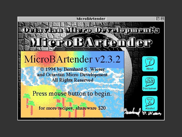 MicroBArtender (1994)