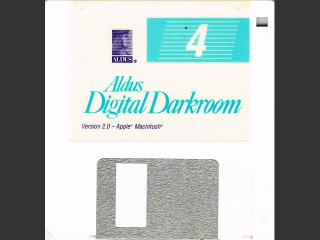 Aldus Digital Darkroom 2.0 + ScanMan (1990)