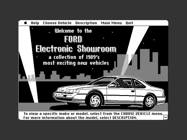 1989 Ford Simulator II (1989)