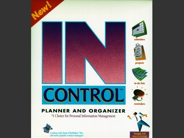 IN CONTROL 3.5 for Workgroups (1994)