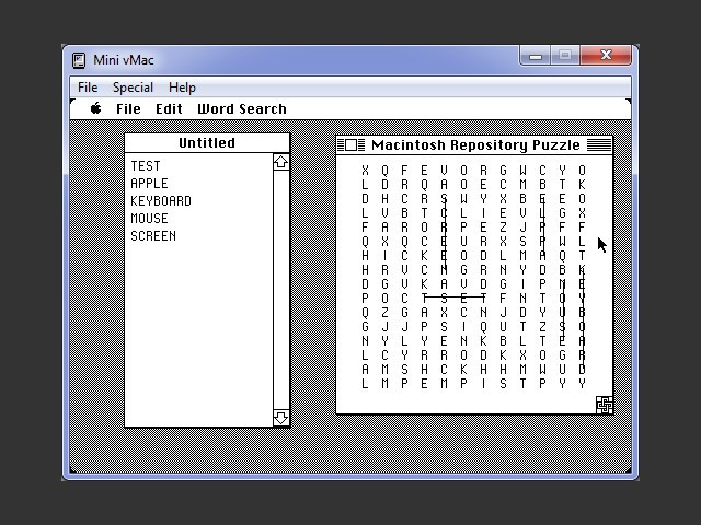 Word Search (1986)