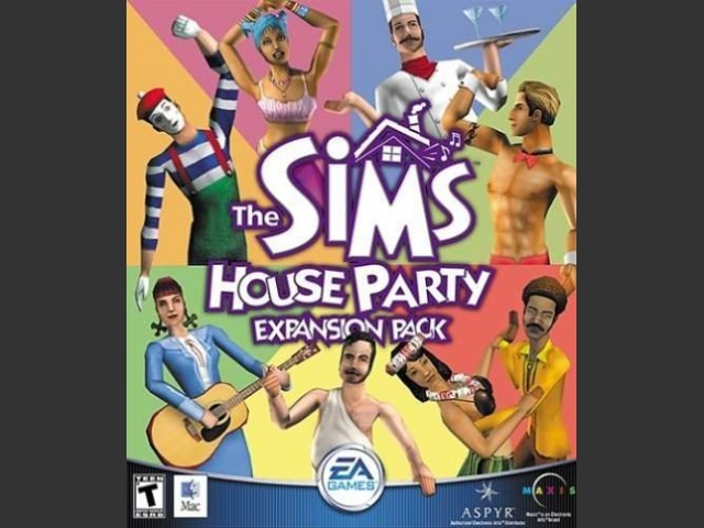 The Sims House Party box cover