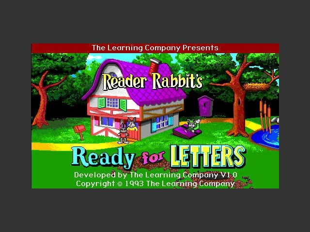Reader Rabbit's Ready for Letters (1993)