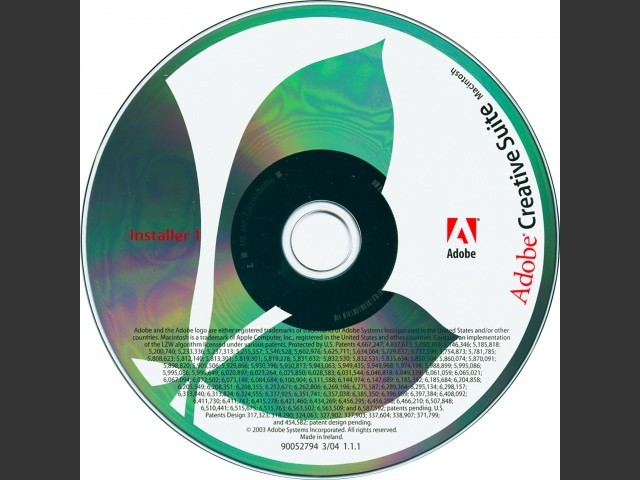 Adobe Creative Suite 1 (Premium) (2004)