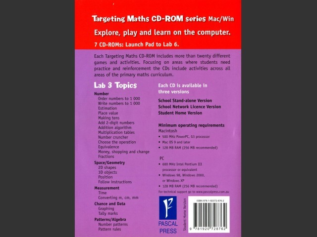 Targeting Maths Lab 3 (2004)