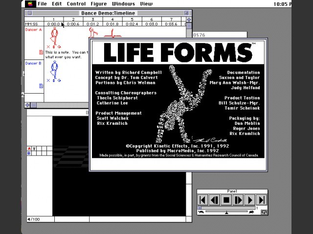 Life Forms 1.01 (1992)