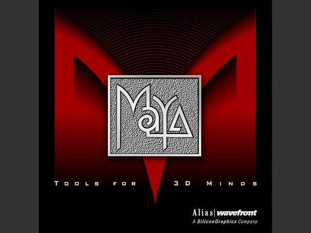 Alias|Wavefront Maya 3.x (2001)