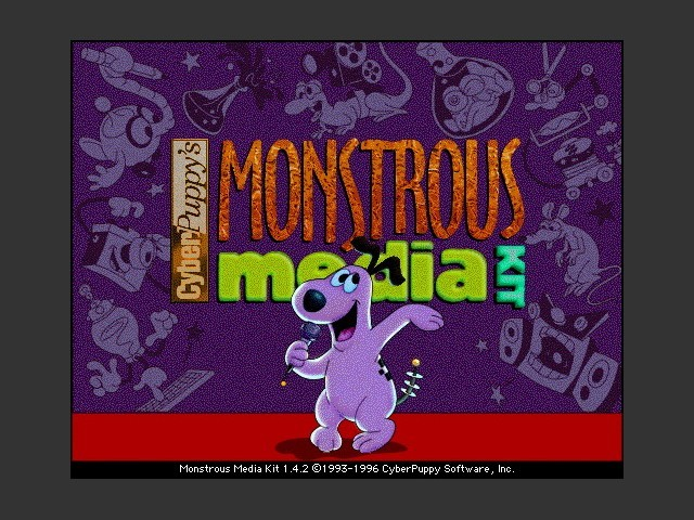 Monstrous Media Kit 1.4.2 (1996)