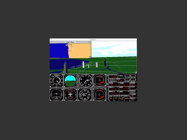 Microsoft Flight Simulator 4.0 (1991)