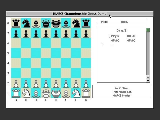 HIARCS Championship Chess (1995)