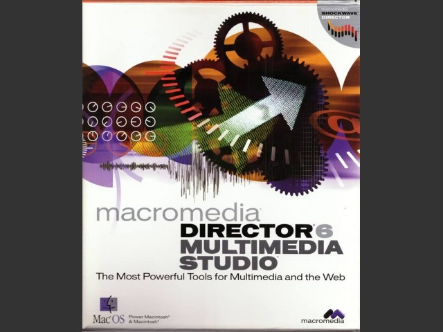 Macromedia Director 6.5 Multimedia Studio (1998)