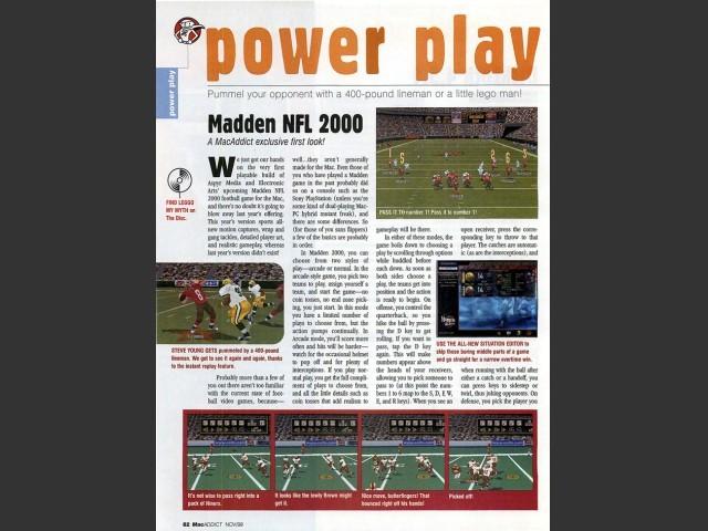 Madden NFL 2000 (1999)