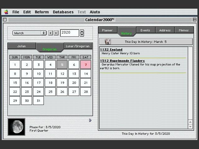 Calendar2000 Folder (2000)
