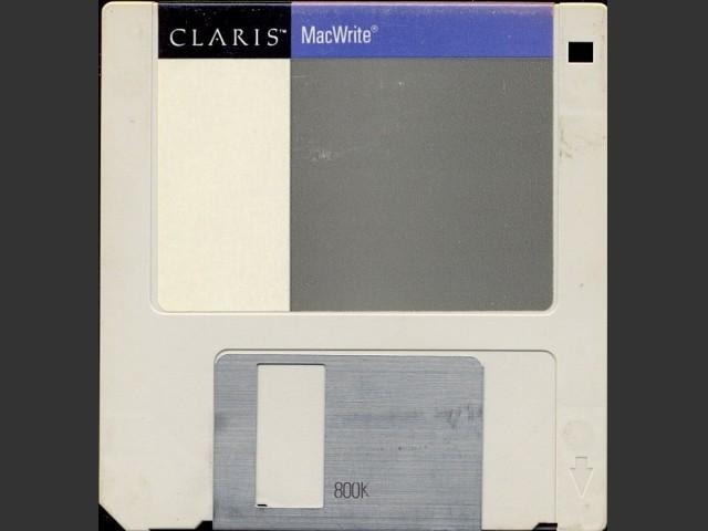 Claris MacWrite (1988)