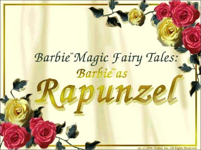 Barbie Magic Fairy Tales: Barbie as Rapunzel (1996)