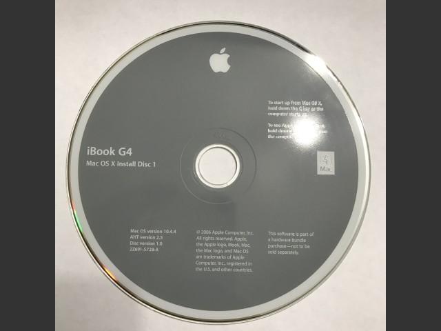 iBook G4 Mac OS X 10.4.4 (2006)