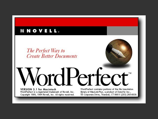 WordPerfect 3.1 [Novell] (1994)