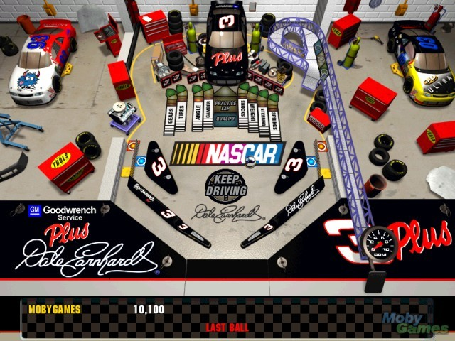 3D Ultra NASCAR Pinball (aka 3D Ultra Pinball: Turbo Racing) (1998)