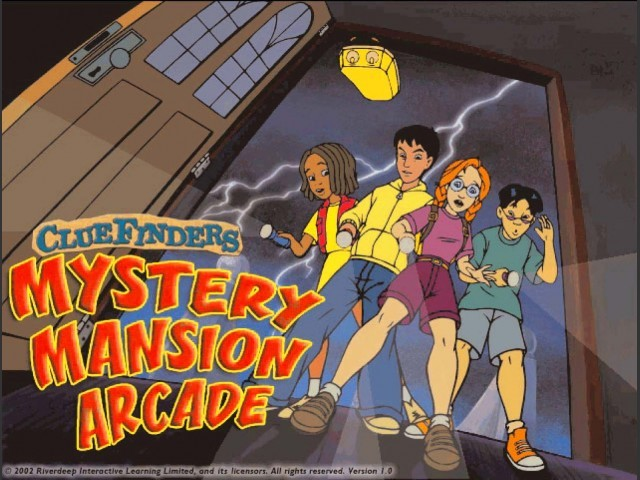 ClueFinders: Mystery Mansion Arcade (2002)
