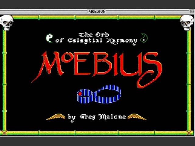 Moebius: The Orb of Celestial Harmony (1987)