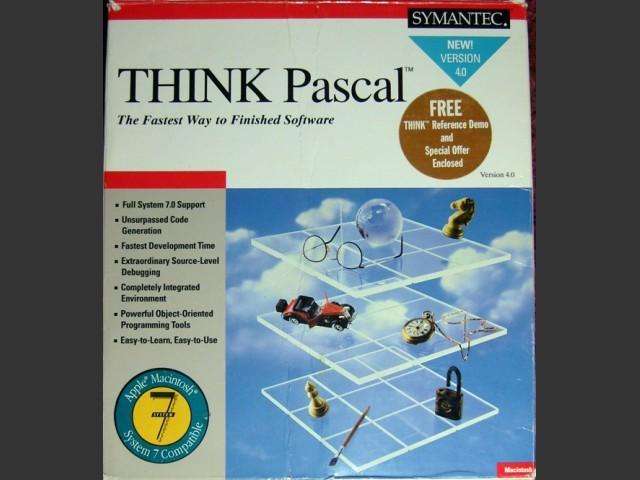 Symantec THINK Pascal 4.0 (1991)
