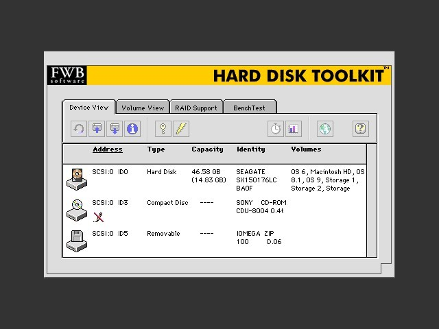 FWB Hard Disk ToolKit 4 x - Macintosh Repository