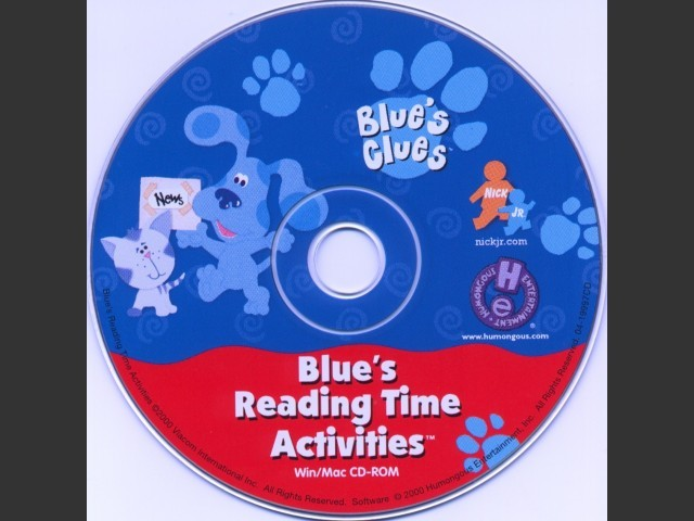 Blue's Reading Time Activities (2000)