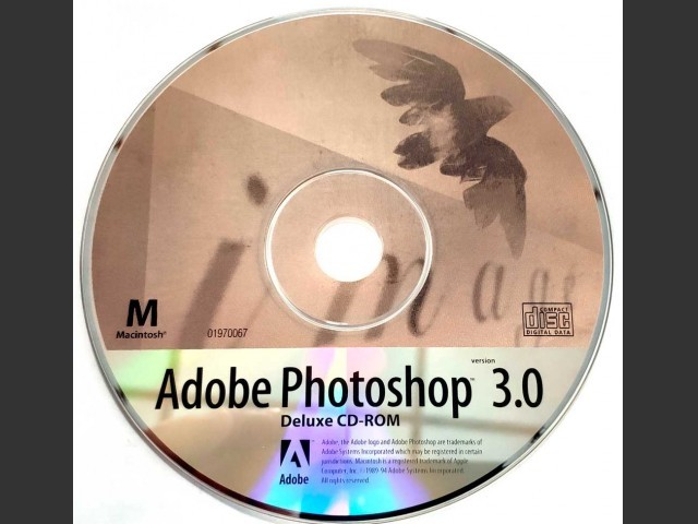 Adobe Photoshop 3.0 Deluxe CD (1994)