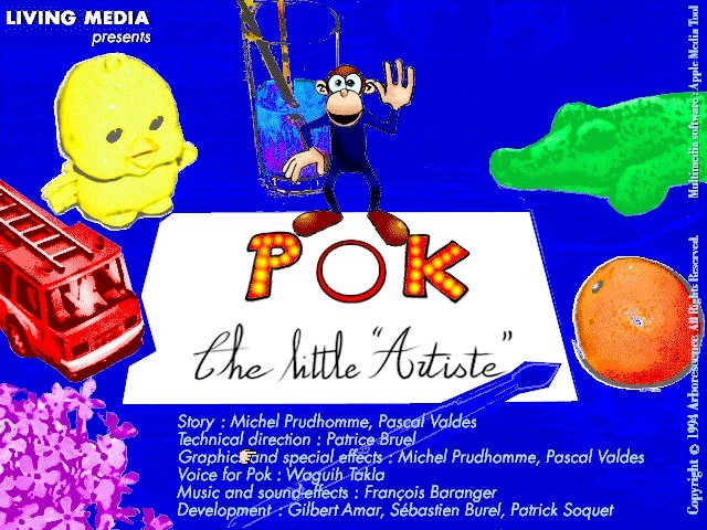 "POK the Little ""Artiste"" / Pok le Petit Peintre (1994)"