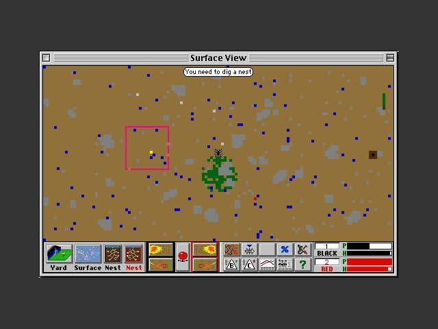 Gameplay map overview