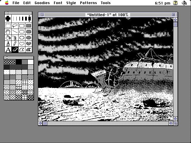 MacPaint 2.0 / Main Interface