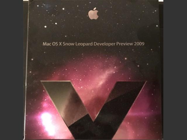 Mac OS X Snow Leopard Developer Preview 2009 (2009)